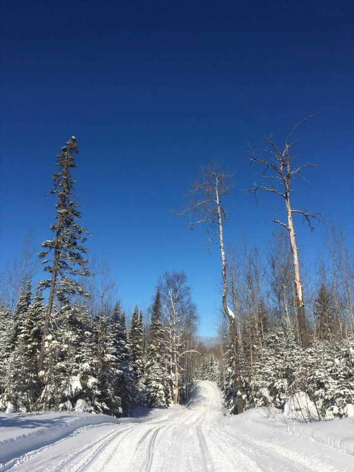 Snowmobile Trails-Gunflint