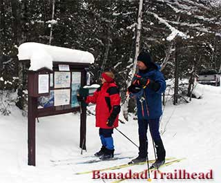 Ski Trails-Banadad Trails