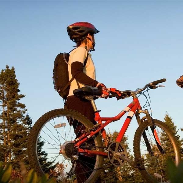 bike trails north shore