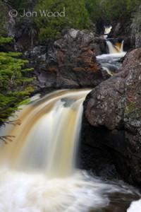 cascade river, lutsen