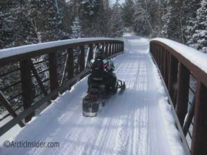 j ramstad state snowmobile trail