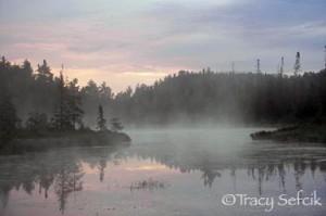 clearwater lake morning