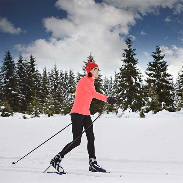 north shore cross country ski trails