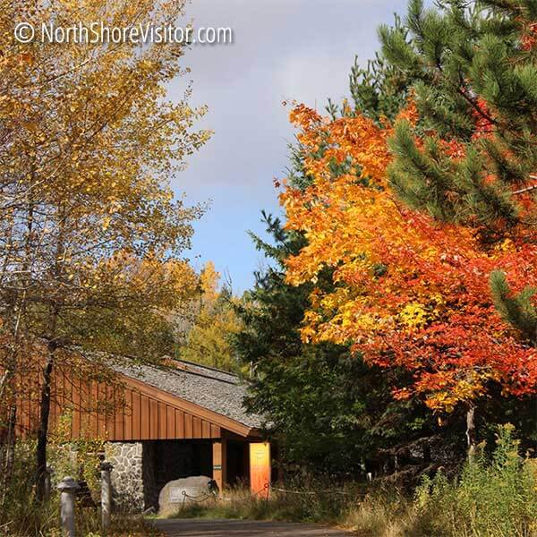 fall colors gooseberry falls mn
