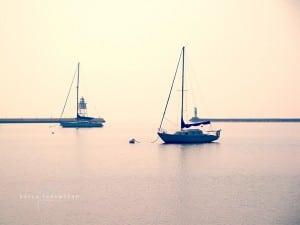 Sailboats, Grand Marais