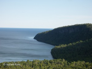 rugged topography near grand portage