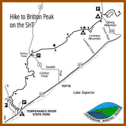 hike britton peak tofte