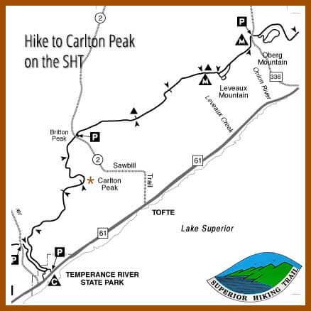 hike carlton peak fall colors