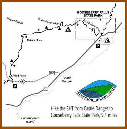 Castle Danger to Gooseberry Falls