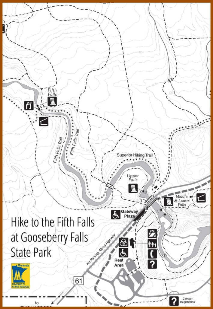 fall hike at gooseberry