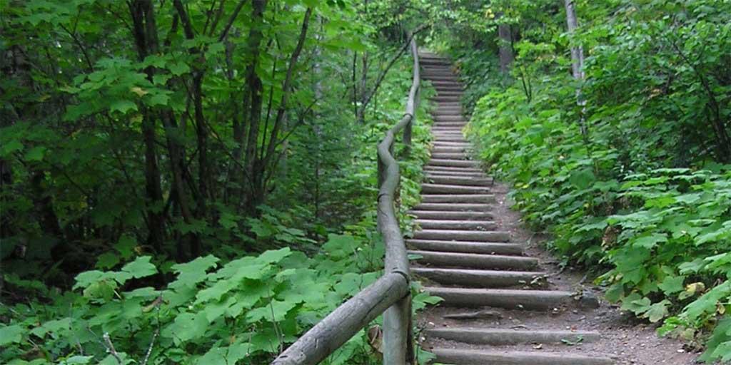 hiking trails north shore