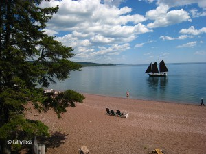 hjordis sailing, east bay grand marais