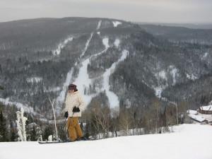 skiing at lutsen mountains