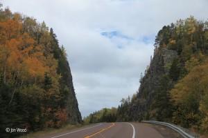 Summit of Mount Josephine along Highway 61