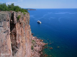 palisade head, tettegouche state park