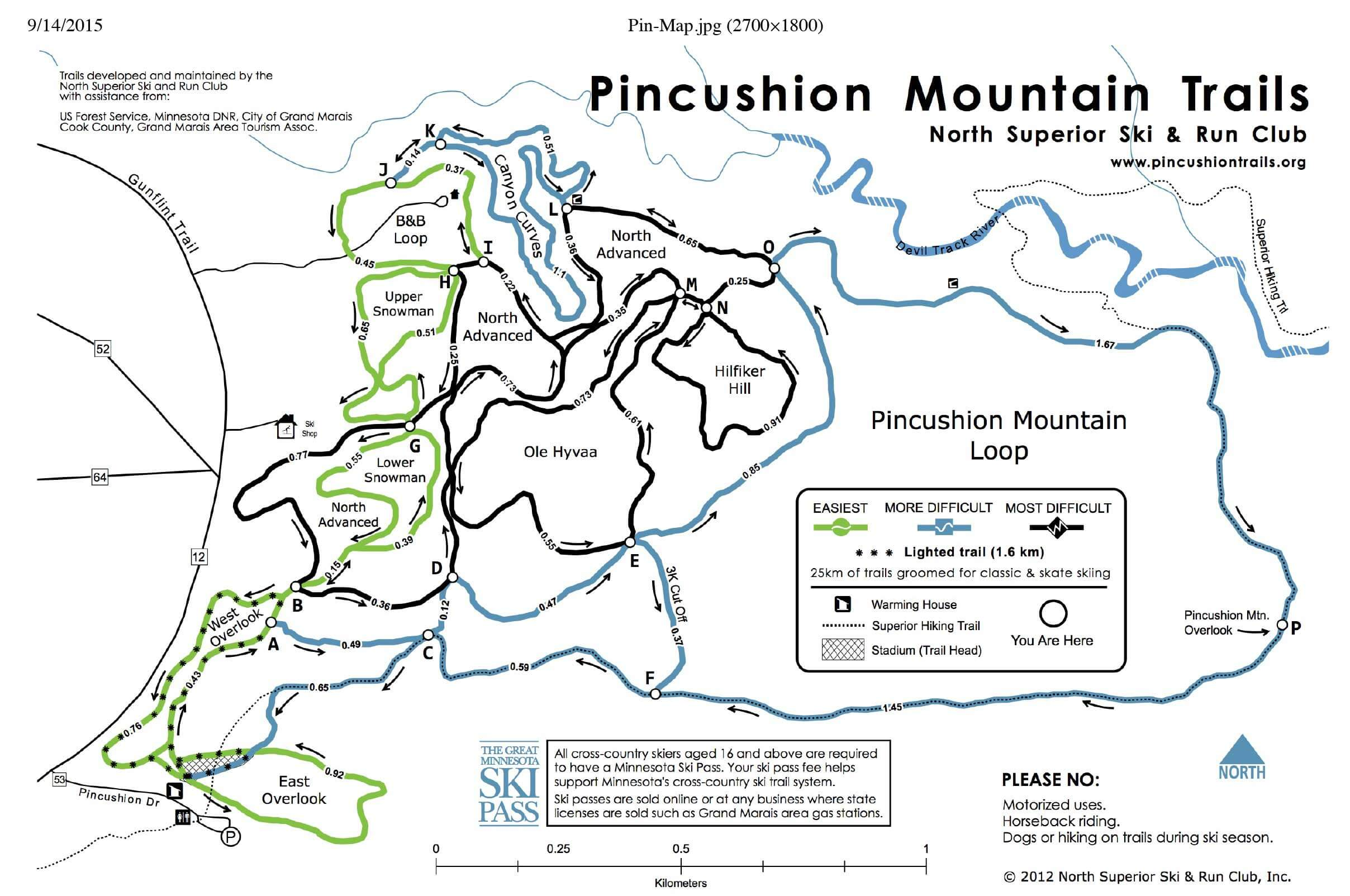 Pincushion Mountain Overlook