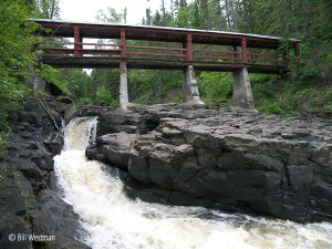 poplar river bridge, lutsen