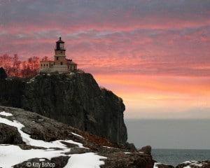 Pink sky in the morning, sailors take warning