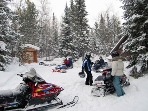north shore snowmobiling