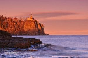 Split Rock Lighthouse dawn
