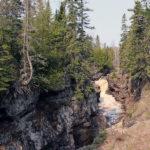 waterfalls temperance river