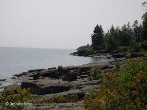 Quiet shoreline