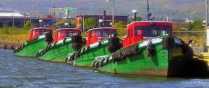 Tugs, Duluth harbor