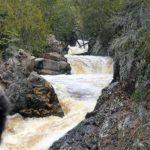 cascades on cascade river north shore lutsen