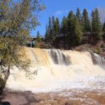 north shore waterfalls