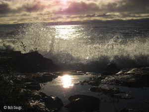 wave crash!