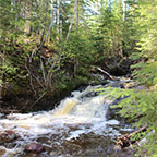 Superior Hiking Trail, Woods Creek to Kimball Creek