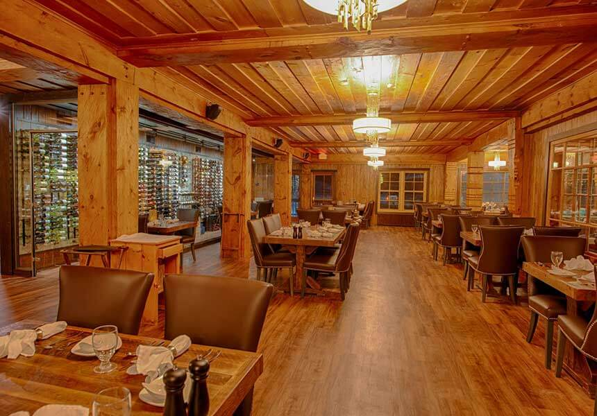 The Strand Waterfront Dining Room at Lutsen Resort