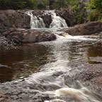 two step falls, tettegouche