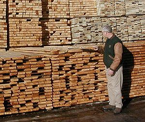 Hedstrom's Lumber Mill Tour
