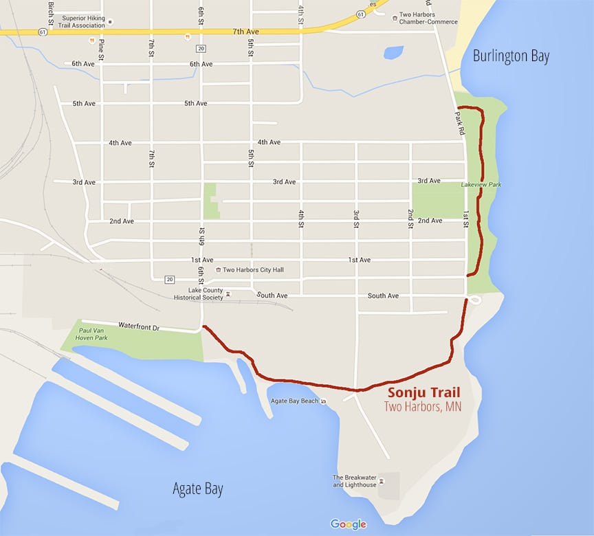 Sonju Two Harbors >> North Shore Hiking Trails along Lake Superior and Inland