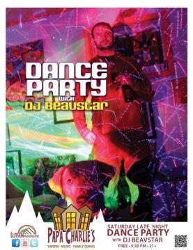 Dance Party with DJ Beavstar