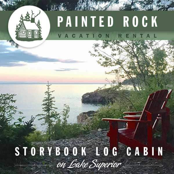 Painted Rock on Lake Superior