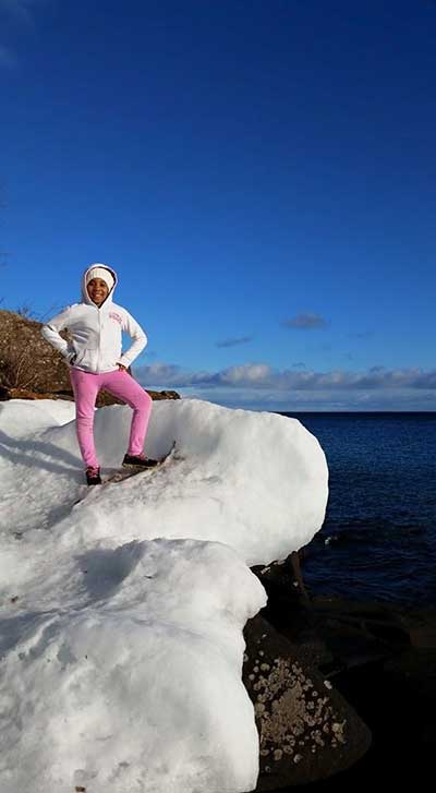 AllisonBreininger snowshoe
