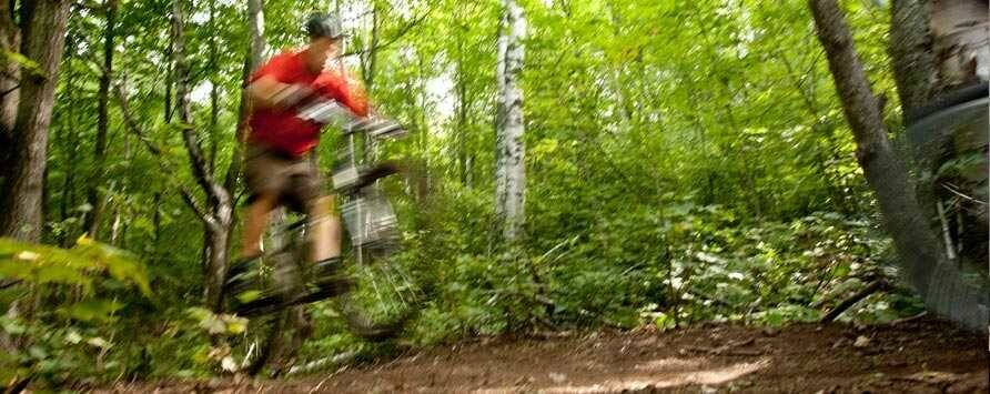 Grand Opening and Ride of Flume Mountain Bike Trail