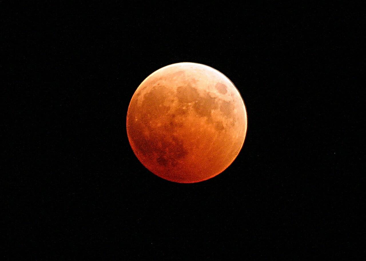 Blue Moon Lunar Eclipse