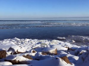 lake superior winter ice