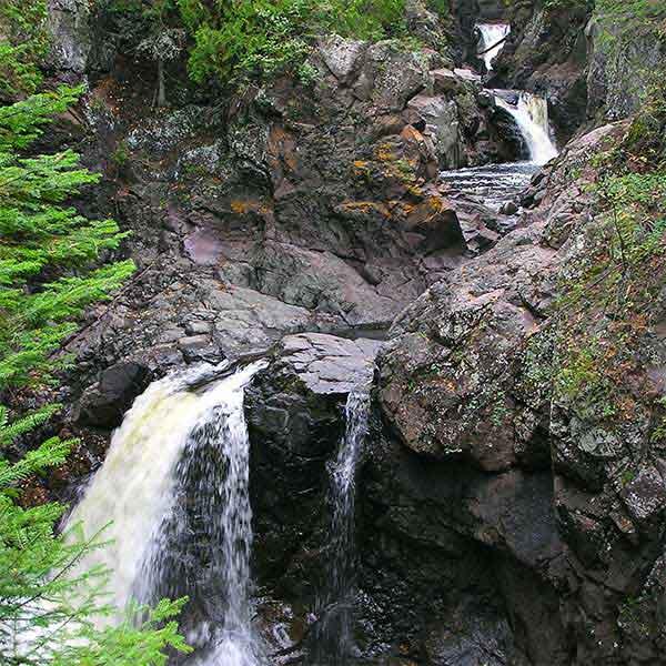Cascades & Falls of the Cascade River
