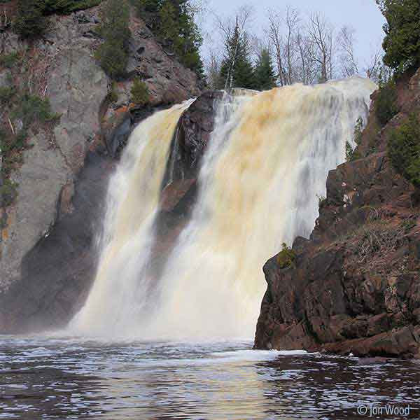 high falls baptism river tettegouche