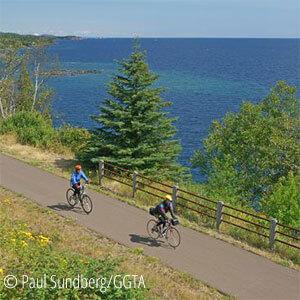 gitchi gami paved bike trail