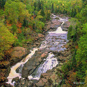 waterfalls and cascades of the beaver river