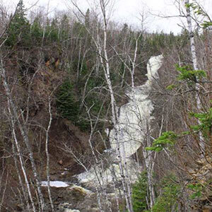 falls of the onion river