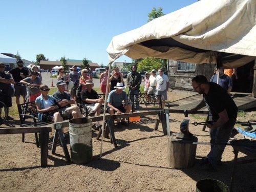 Bally Blacksmith Shop Demonstrations