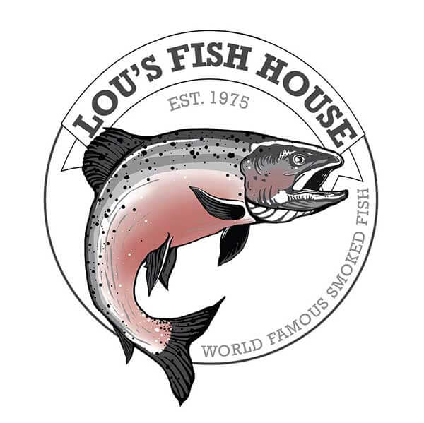 lou's fish house logo