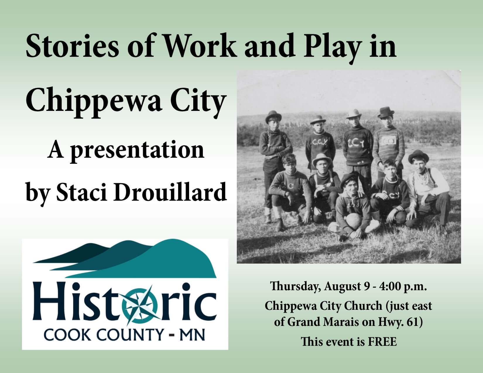 Stories of Work and Play in Chippewa City