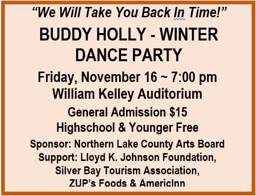 Buddy Holly Winter Dance Party